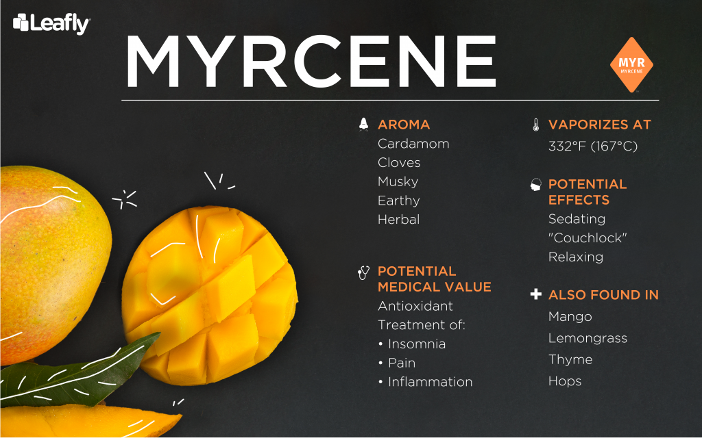 weed terpene myrcene