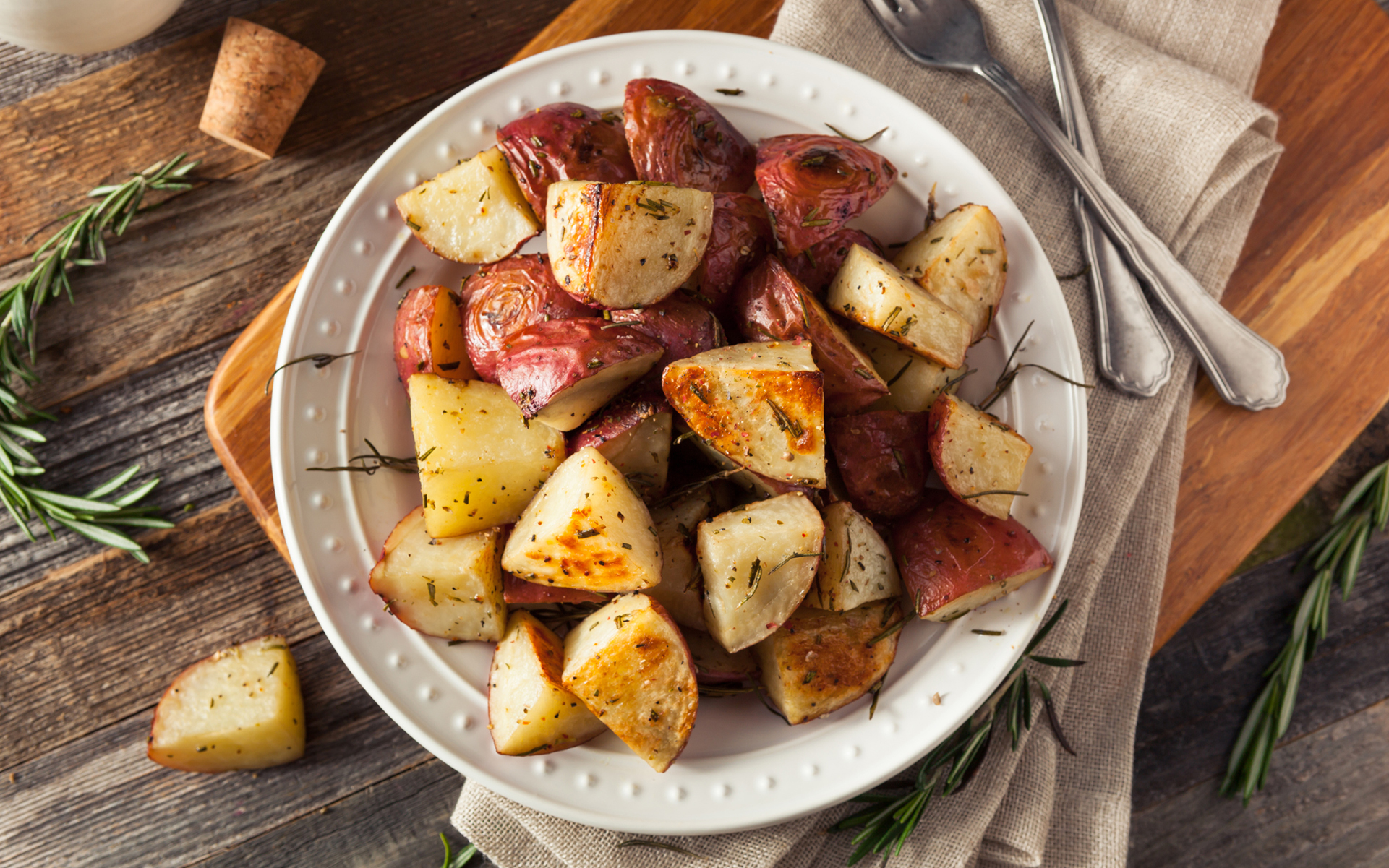 """Recipe: How to Make Cannabis-Infused """"Herb"""" Roasted Potatoes"""