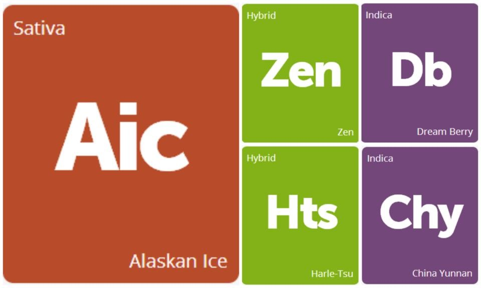 New Strains Alert: Alaskan Ice, China Yunnan, Dream Berry, Harle-Tsu, and Zen