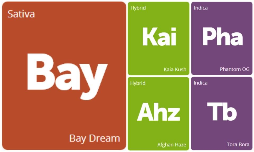 New Strains Alert: Phantom OG, Kaia Kush, Afghan Haze, Bay Dream, and Tora Bora