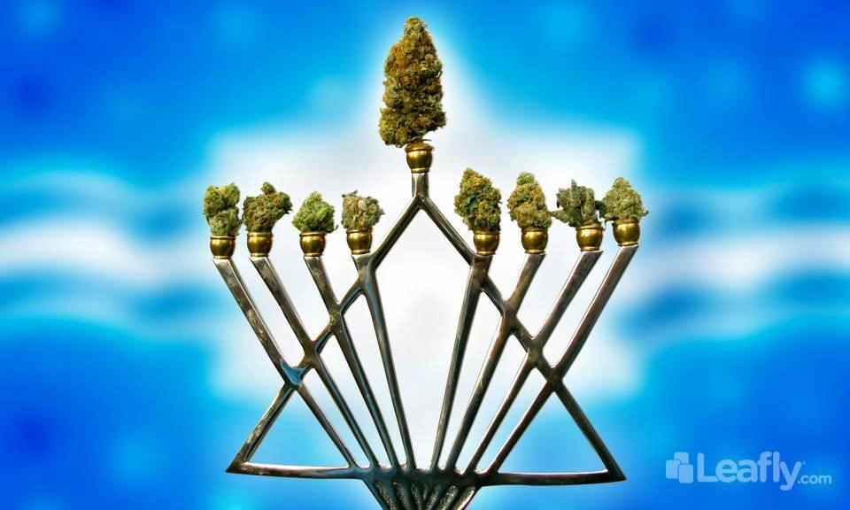 Happy Hanukkah! 8 Crazy Strains for Making Hash Oil