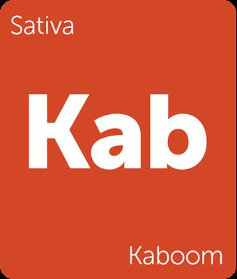 Kaboom Leafly Strain Tile