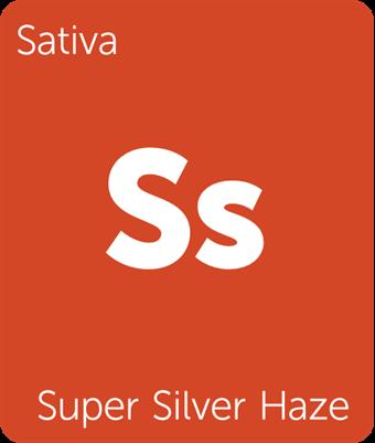 Super Silver Haze Leafly Strain Tile