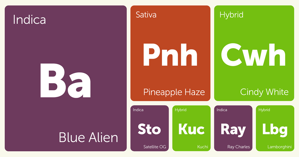 New Strains Alert: Blue Alien, Ray Charles, Cindy White, Pineapple Haze, and More