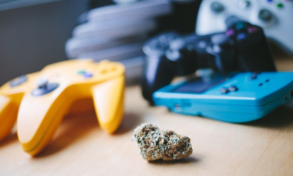 What's the Most Popular Video Game to Play While High?