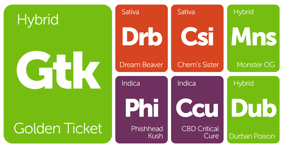New Strains Alert: Phishhead Kush, Dream Beaver, Chem's