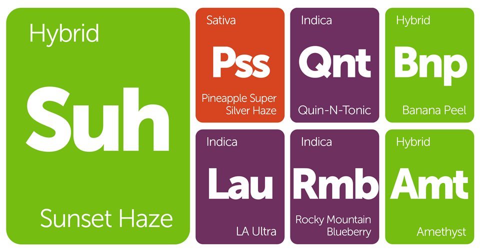 New Strains Alert: Sunset Haze, LA Ultra, Pineapple Super Silver Haze, Banana Peel, and More