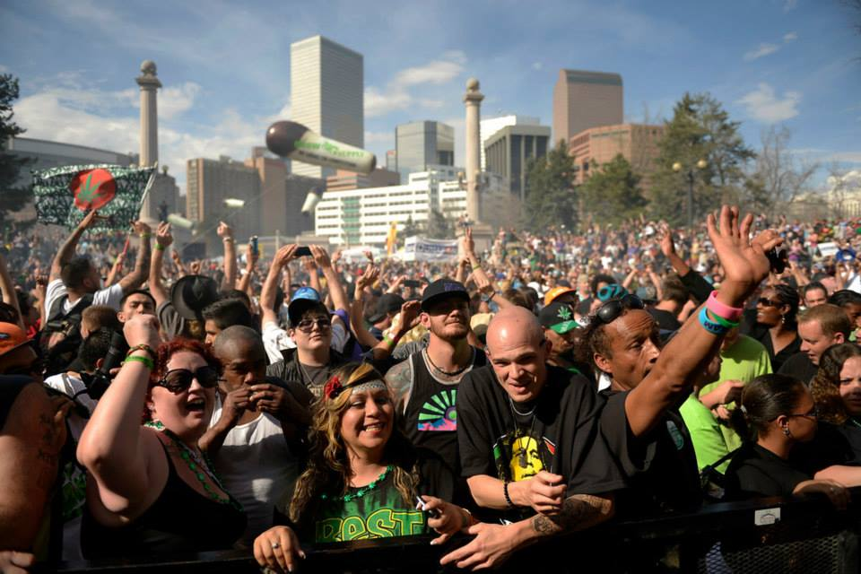 Crowd at World Cannabis Week