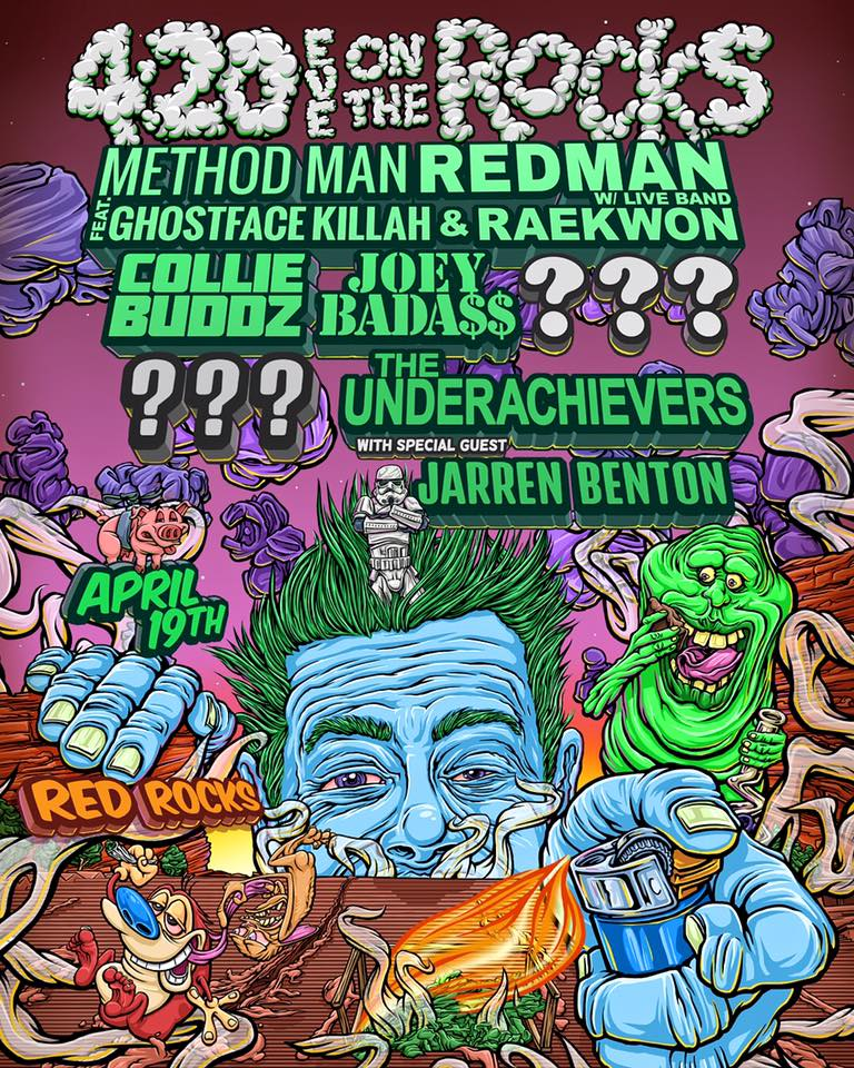 420 Eve on the Rocks with Method Man & Redman