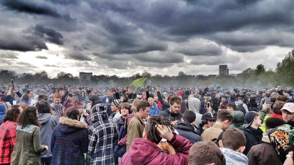 Annual London 420 Rally