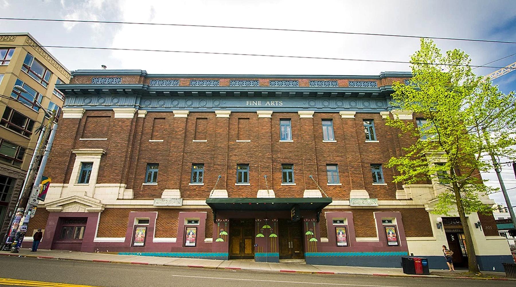 Egyptian Theater Seattle Washington