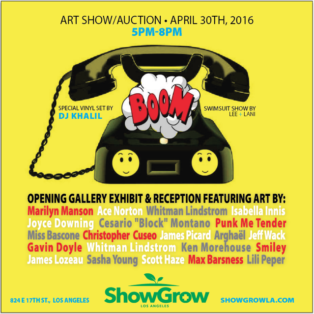 Show Grow LA Turn Art Show