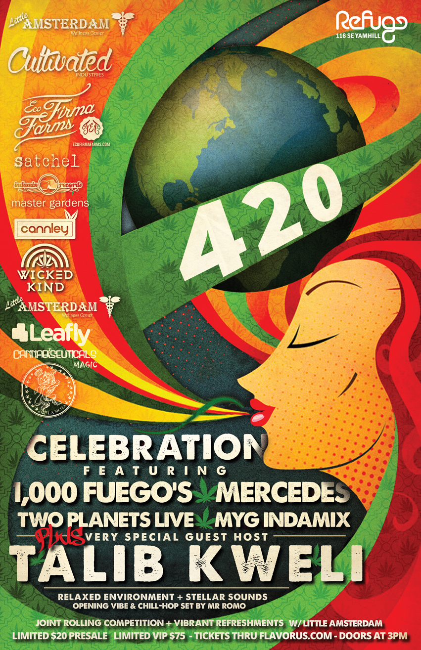 420 Party at Refuge PDX