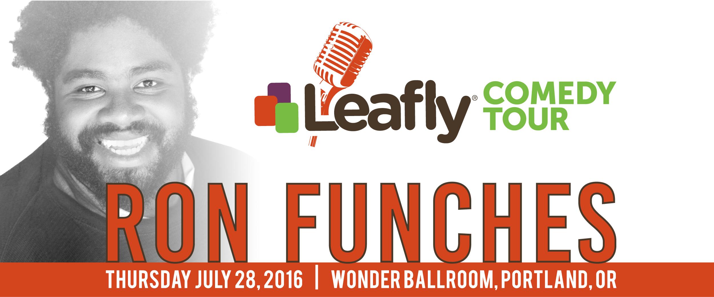 Leafly Comedy Tour Portland
