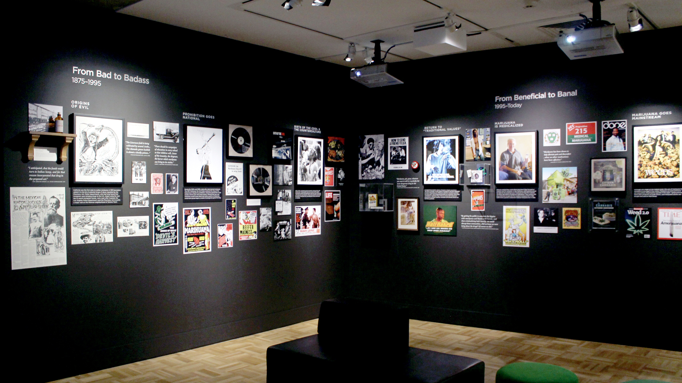 Altered State exhibition displays