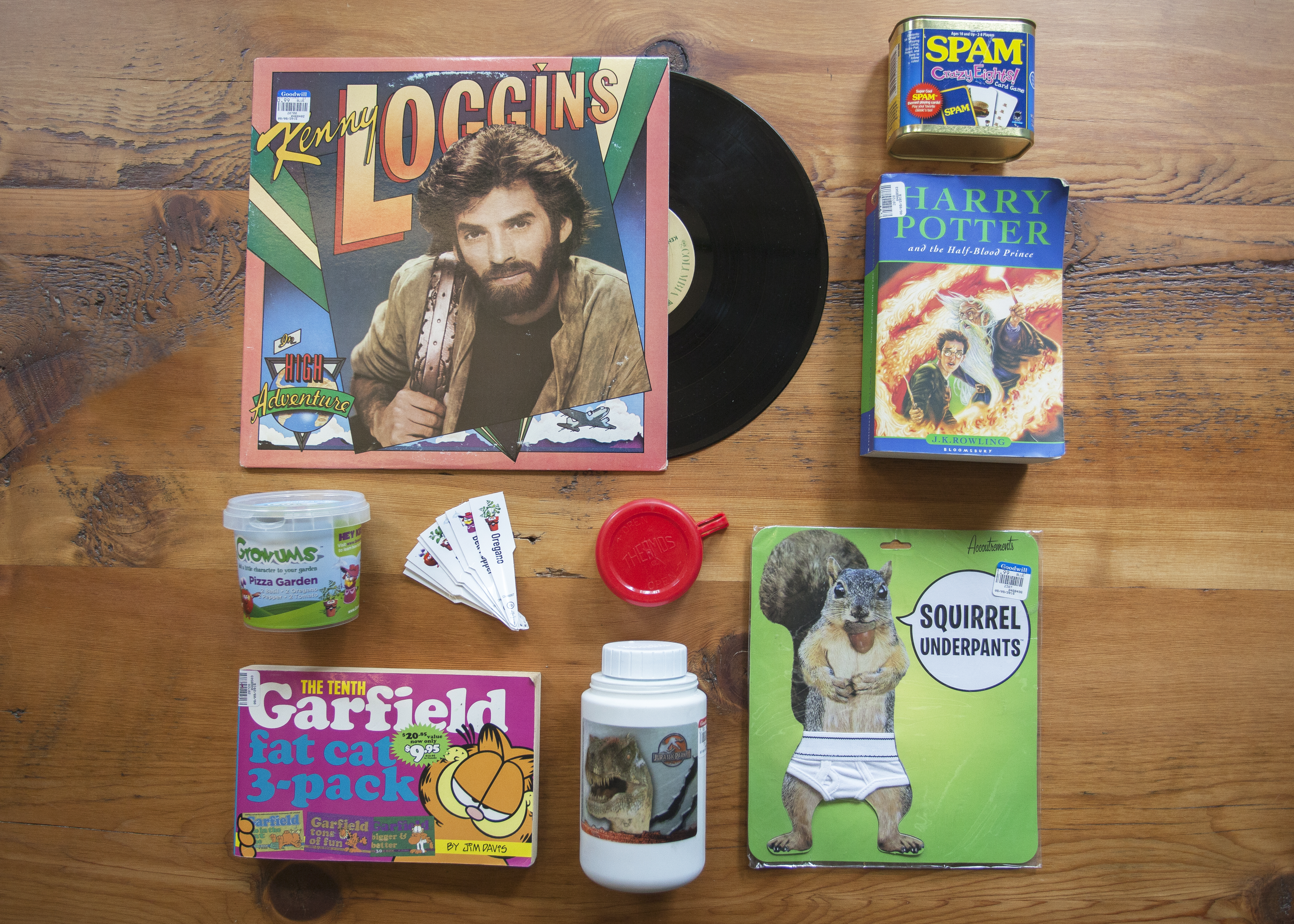 Shopper #5's items for the Leafly Thrift Shop Cannabis Challenge