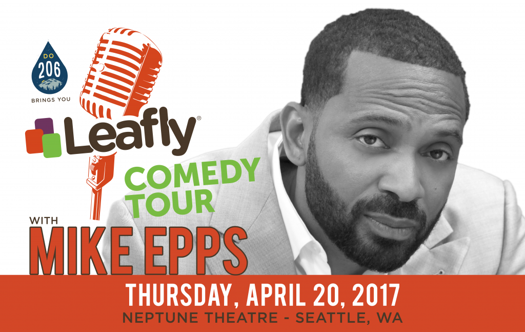 Mike Epps performing on the Leafly Comedy Tour