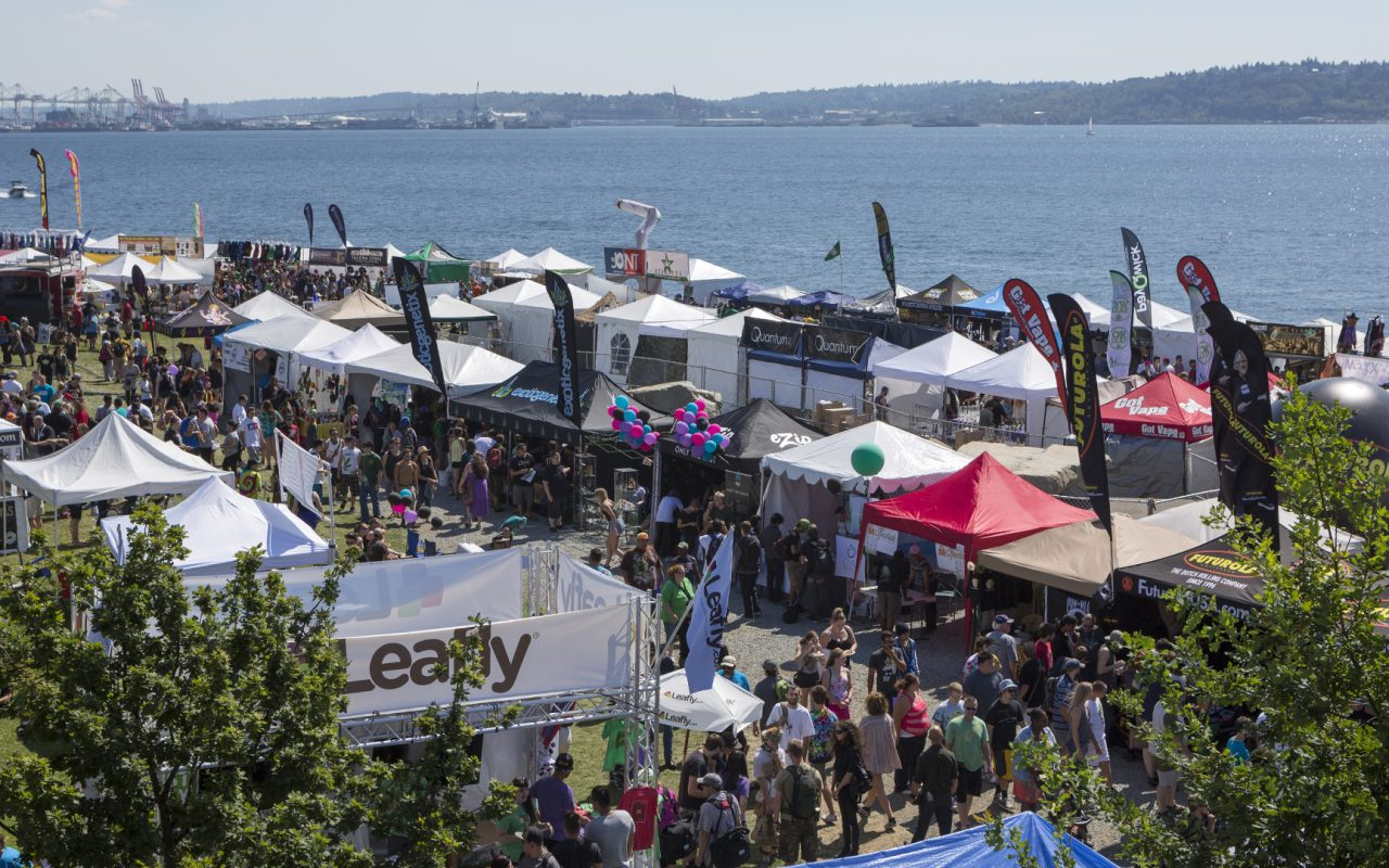 Seattle Hempfest cannabis festival