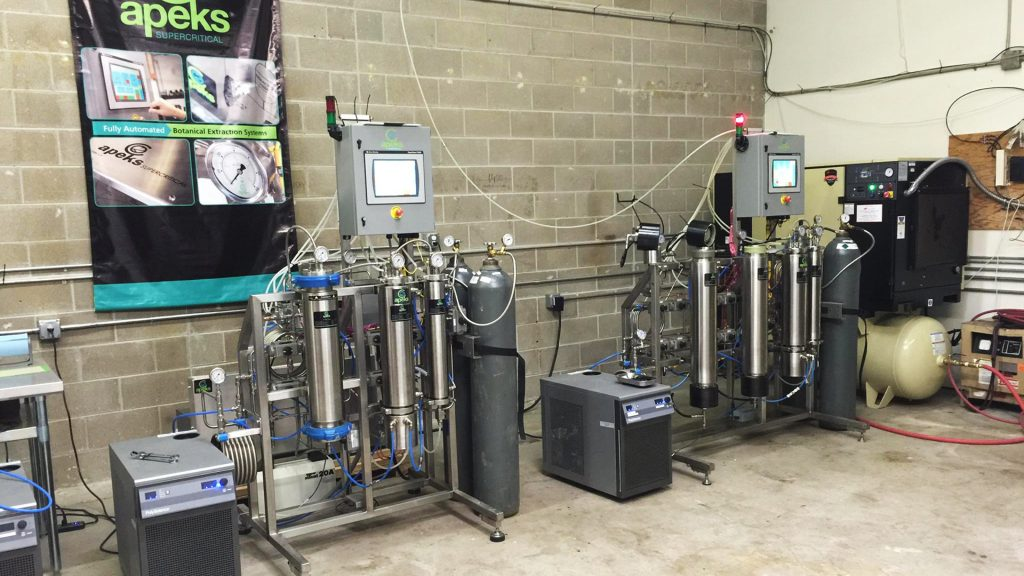 Apeks Supercritical CO2 extraction equipment