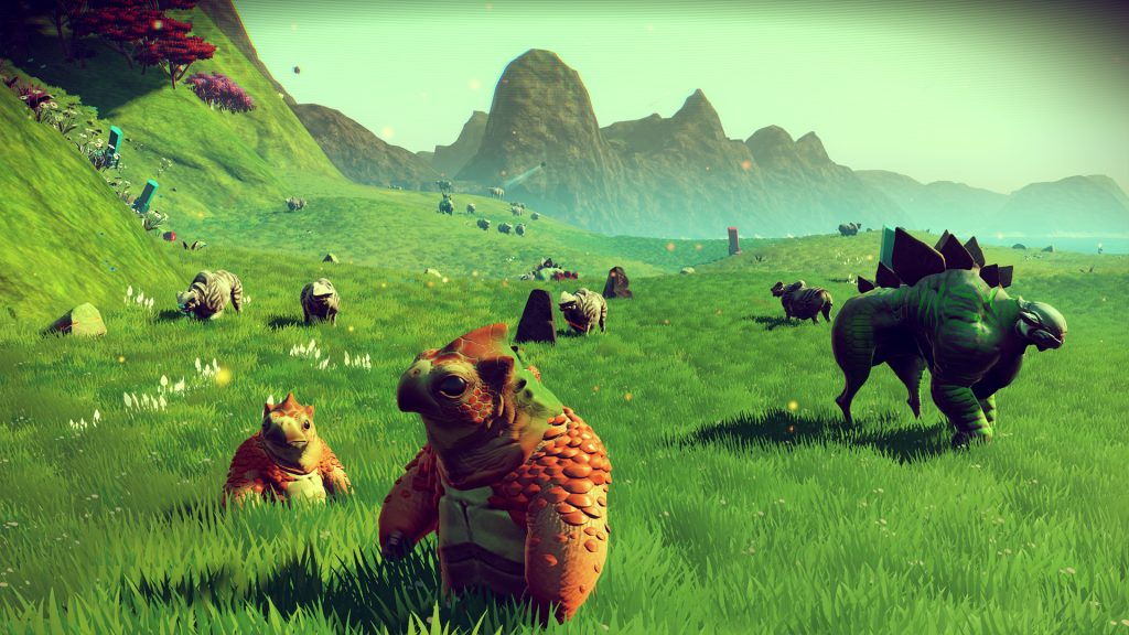 Plants and animals in No Man's Sky