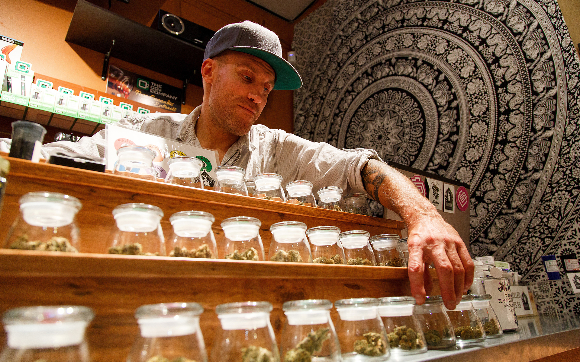 Cannabis dispensary in Eugene, Ore. | AP Photo