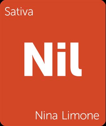 Leafly Nina Limone sativa cannabis strain tile