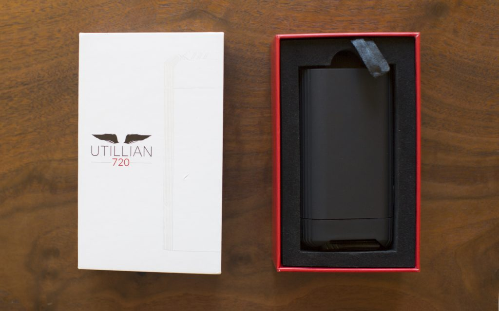 Utillian 720 portable vaporizer