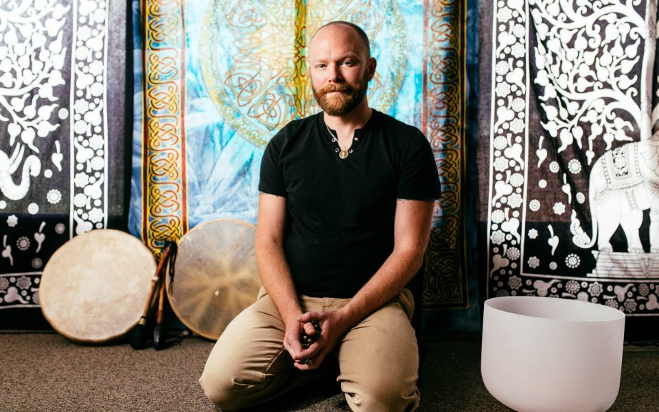 Daniel McQueen, founder of Medicinal Mindfulness.