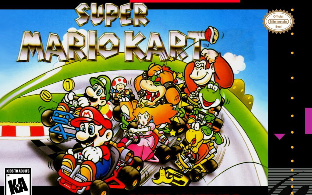 Super Mario Kart video game