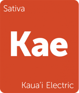 Leafly Kaua'i Electric sativa cannabis strain tile