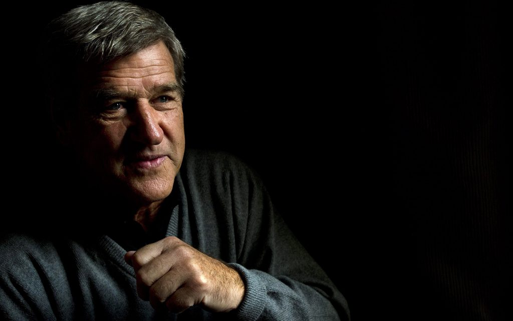 "Hockey hall of famer Bobby Orr poses for a photograph in Toronto on Tuesday, Oct. 15, 2013. Orr has a new booked called "" Orr: My Story"". (AP Photo/The Canadian Press, Nathan Denette)"