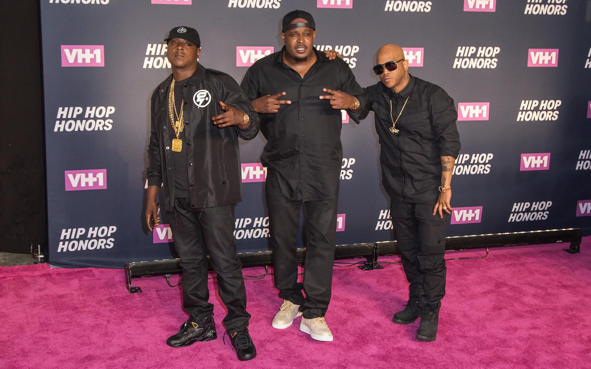 Hip hop group The Lox