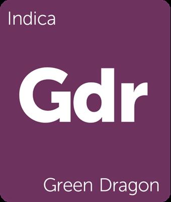 Green Dragon Leafly cannabis strain tile