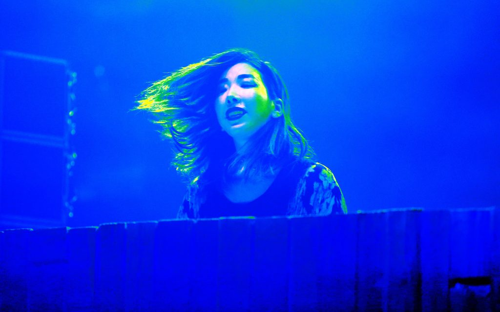Tokimonsta performs on the Parlor stage at the Panorama Music Festival Panorama Music Festival, Day 2, Randalls Island, New York, USA - 23 Jul 2016 (Rex Features via AP Images)