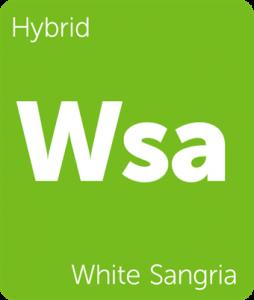 Leafly White Sangria hybrid cannabis strain