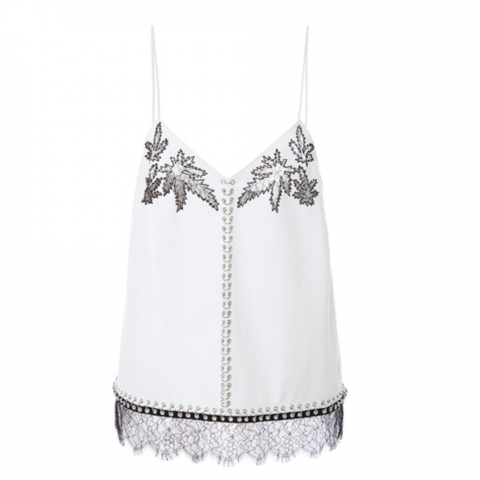 Alexander Wang lace leaf cami
