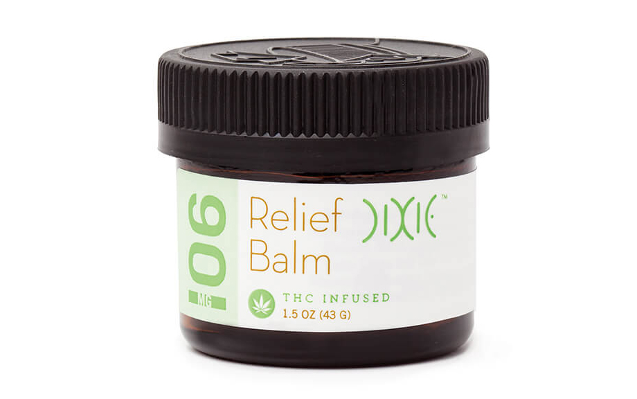 Dixie Relief cannabis-infused balm
