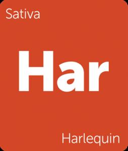 harlequin sativa cbd strain leafly tile