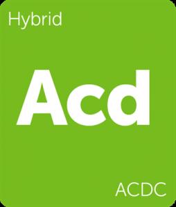 Leafly ACDC hybrid cannabis strain