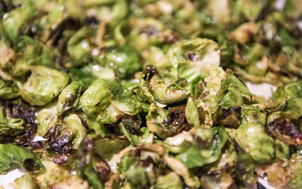 Cannabis-Infused Brussel Sprouts