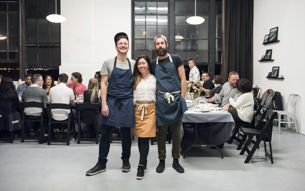 Cannabis Chefs Scott Peabody, Monica Lo, and Jose Rodriguez