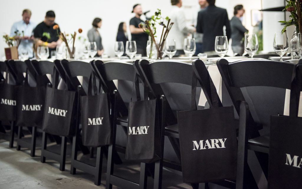 Leafly Cannabis-Infused Dinner Party - MARY Magazine bags