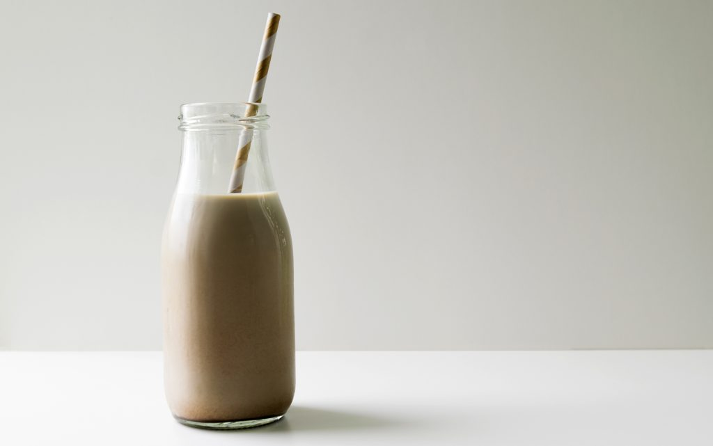Chocolate milk to quench your thirst when high