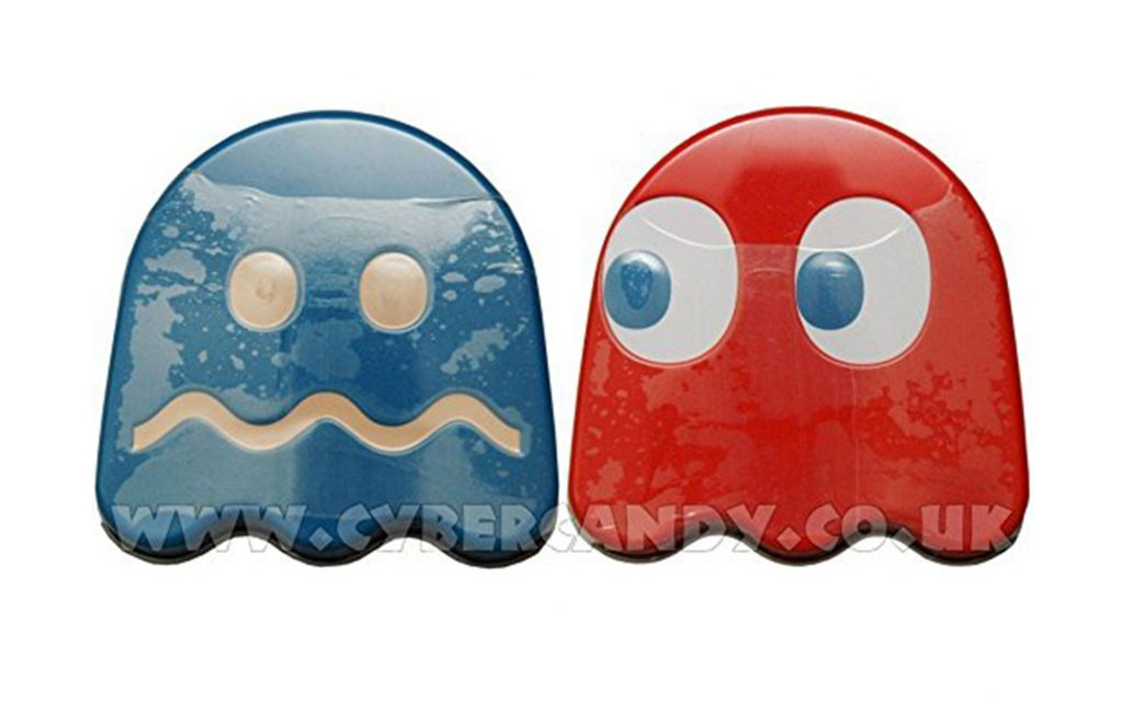 Pac-Man candy ghost sour tin