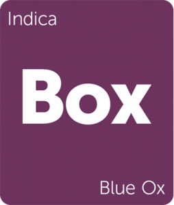 Leafly Blue Ox indica cannabis strain