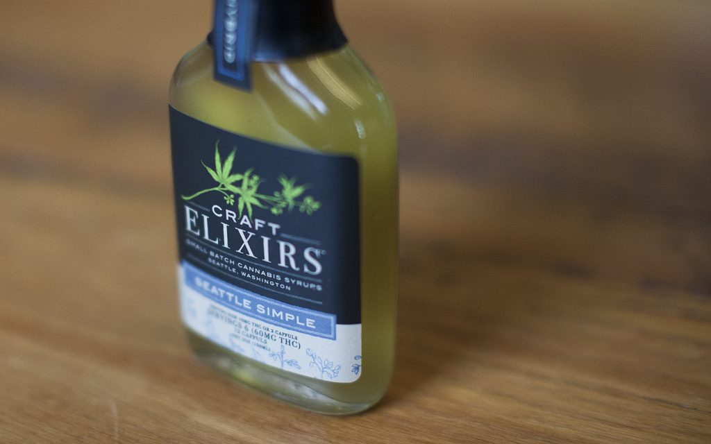 Cannabis-Infused Simple Syrup: Seattle Simple Syrup by Craft Elixirs