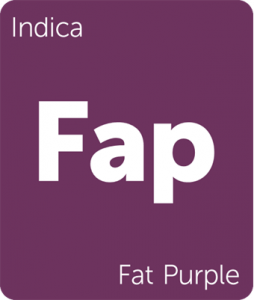 Leafly Fat Purple indica cannabis strain