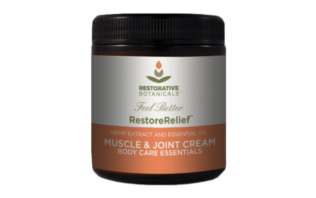 Restorative Botanicals Hemp CBD Restore Relief Muscle & Joint Cream