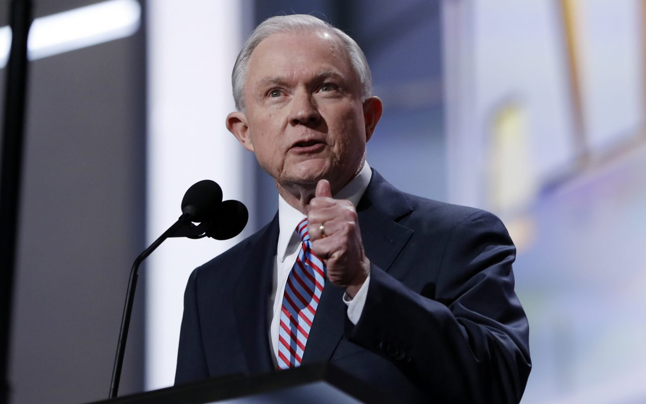 Donald Trump chooses Jeff Sessions for attorney
