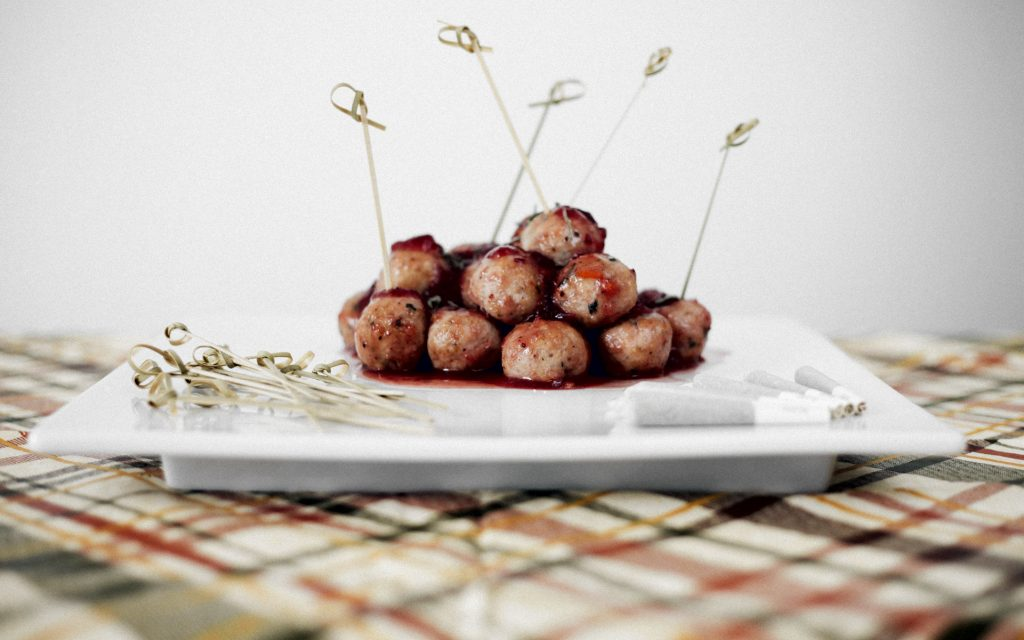Cannabis-Infused Turkey Sage Meatballs